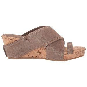 🏹🆕 Donald J Pliner® ◈ Toe Ring Wedge Sandal ◈
